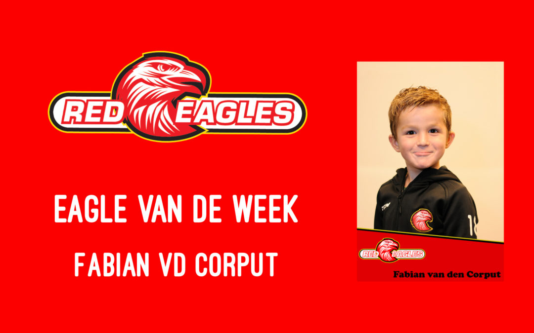 Eagle van de week Fabian