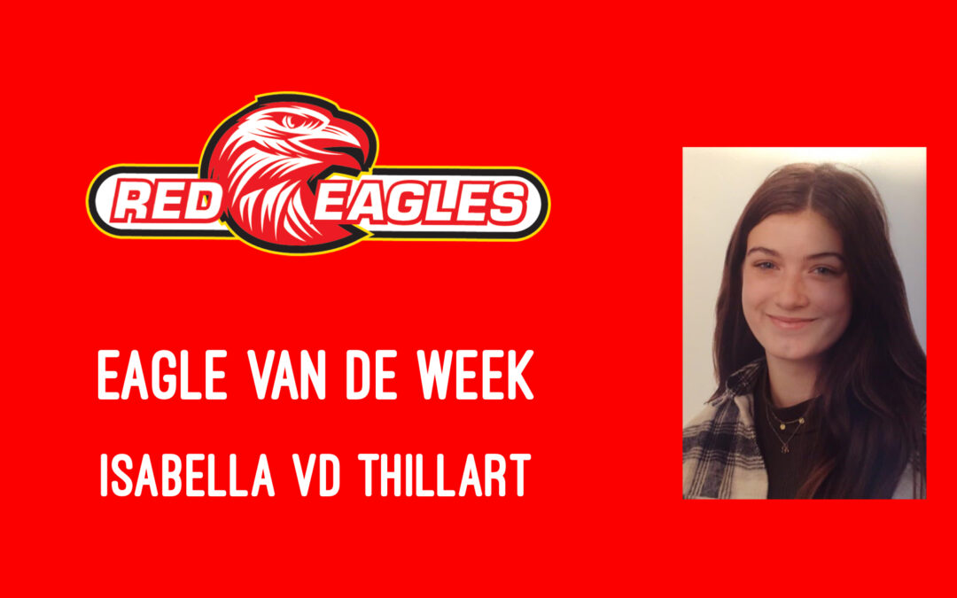 Eagle van de week Isabella